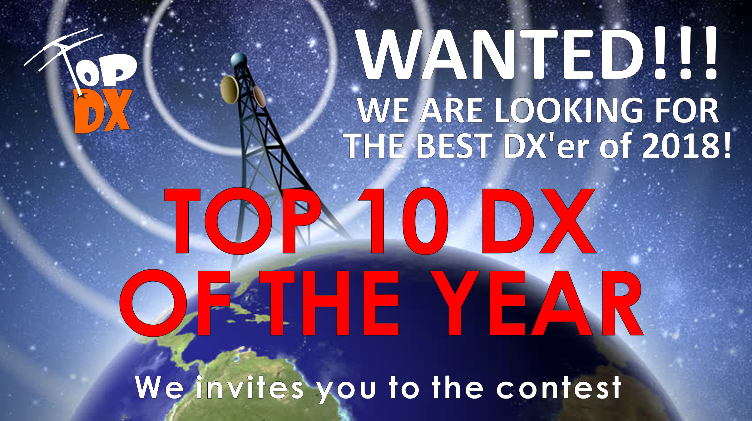 TOP 10 DX of the Year 2017